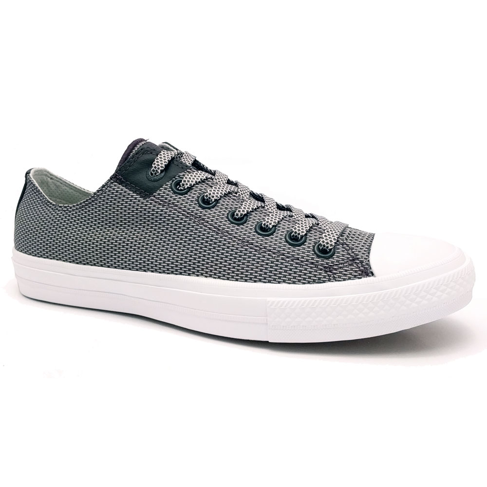 Lage Converse All Star II OX Sneakers Storm Grey