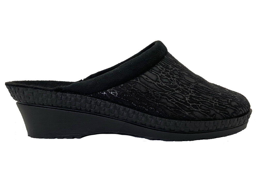 Zwarte Rohde Slippers