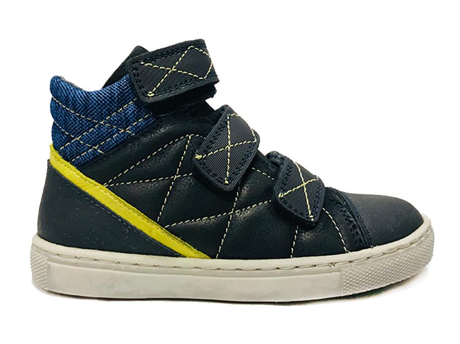 Blauwe TrackStyle Klittenbandschoenen Wijdte 3,5