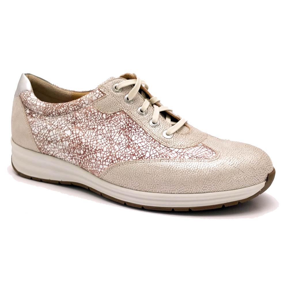 Largeur H Gris Durea Chaussures À Lacets dXBQ7c