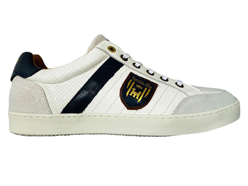 Witte Pantofola d'Oro Veterschoenen Lucera Low