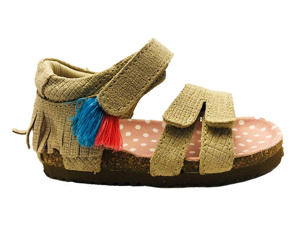 Gouden ShoesMe Sandalen