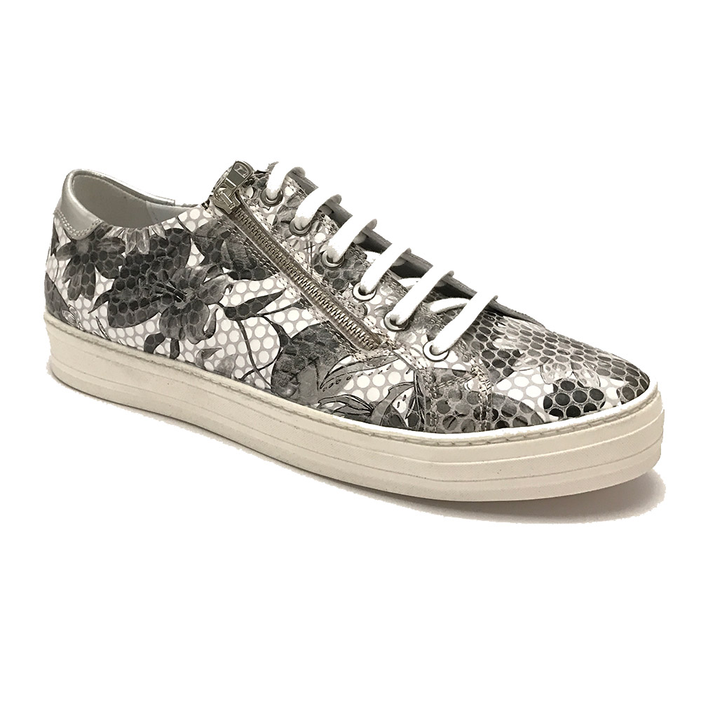 Witte Footnotes Sneakers Fantasy Wijdte H