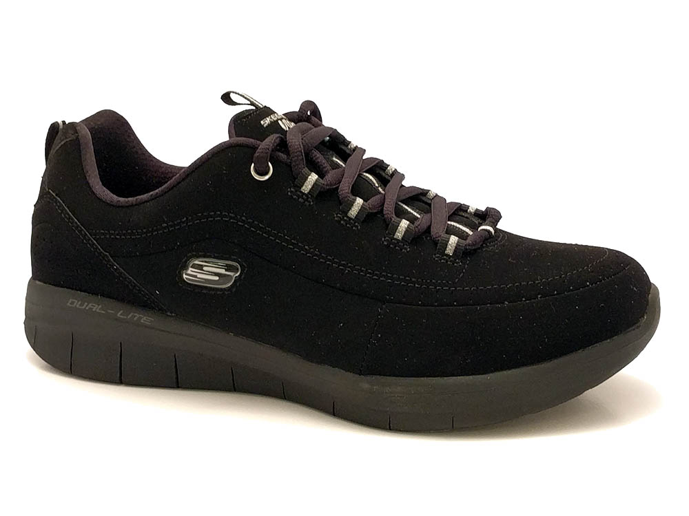 Zwarte Skechers Sneakers Memory Foam