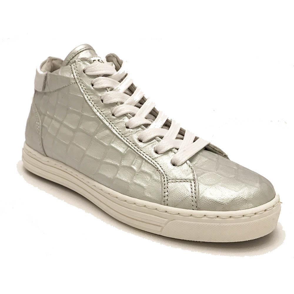 Zilveren Giga Veterschoenen