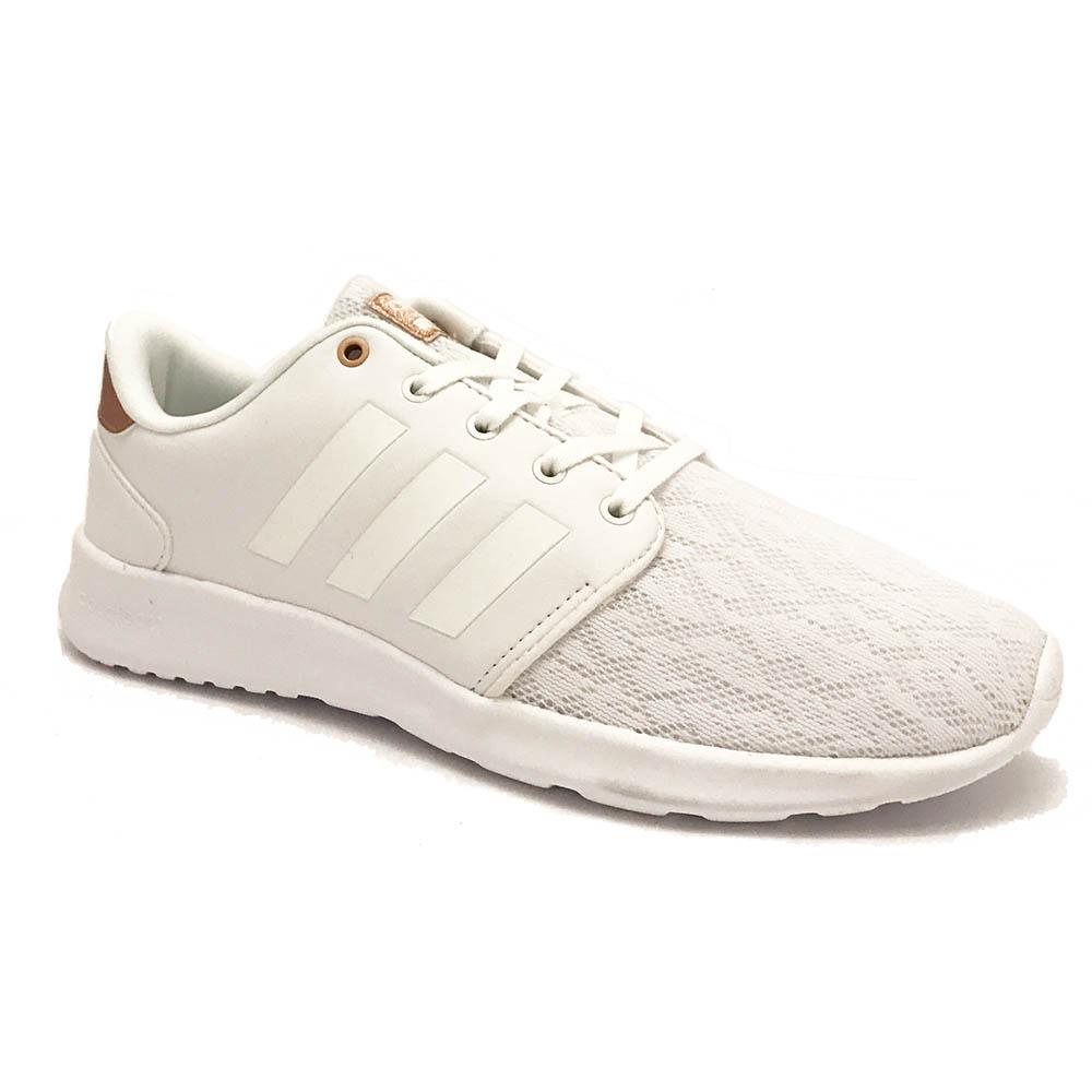 Witte adidas Sneakers Cloudfoam QT Racer W