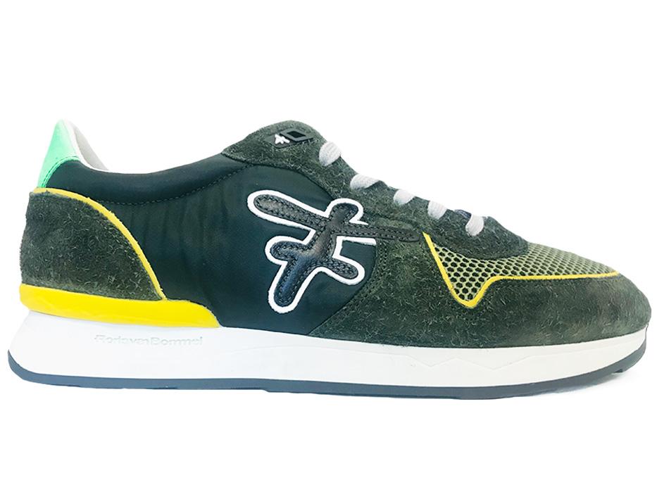 Groene Floris van Bommel Sneakers