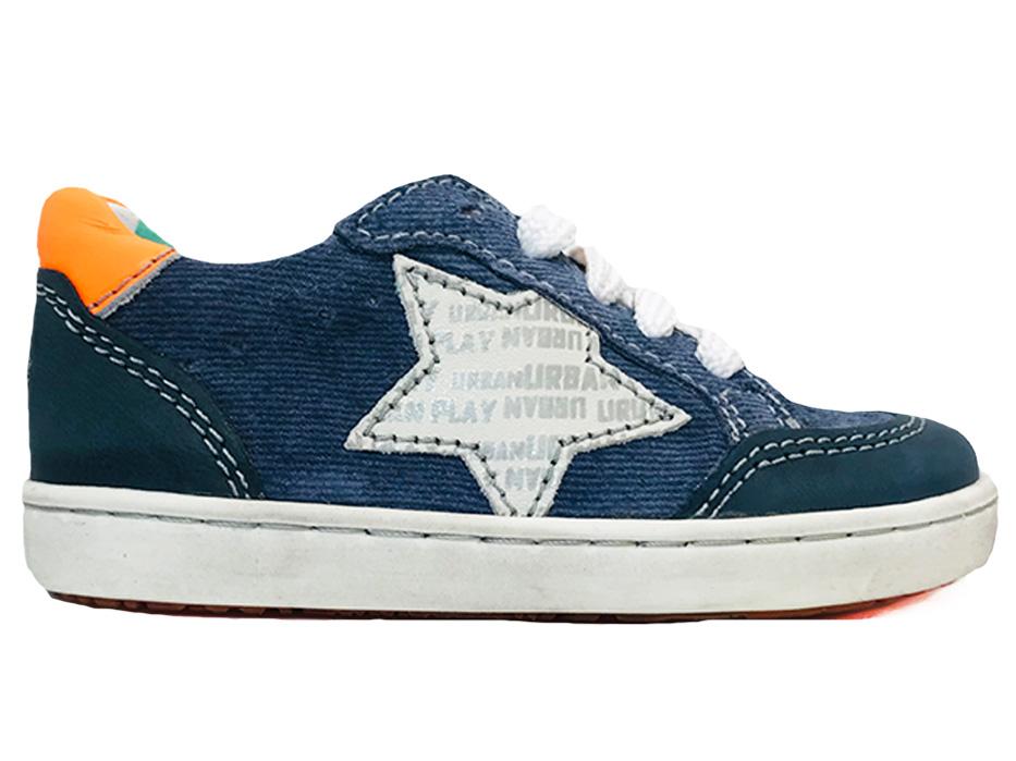 Blauwe ShoesMe Veterschoenen Urban Marino