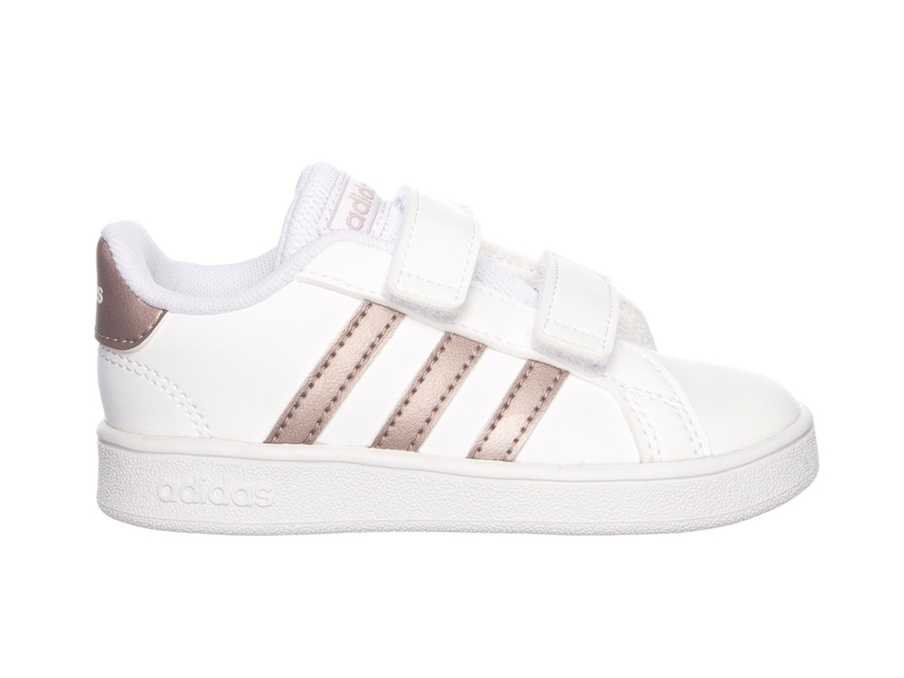 Witte adidas Sneakers Grand Court Kids