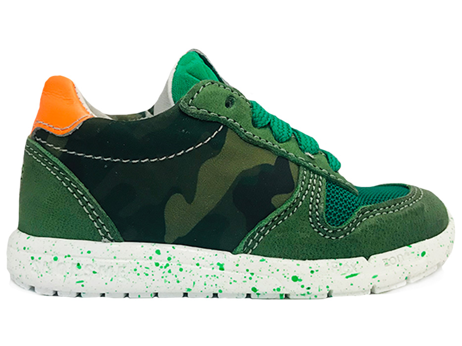 Groene ShoesMe Veterschoenen Run Flex