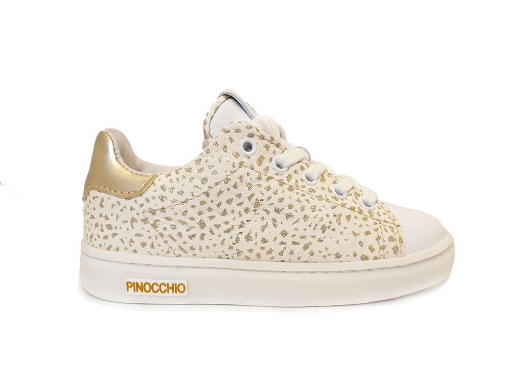 2ed081853cb P1846-30LE-08GI Pinocchio Witte Pinocchio Veterschoenen Platina Giraffe