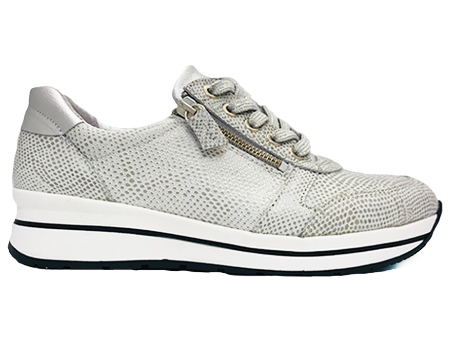 Witte Common Pairs Sneakers Ruby 22 White Snake