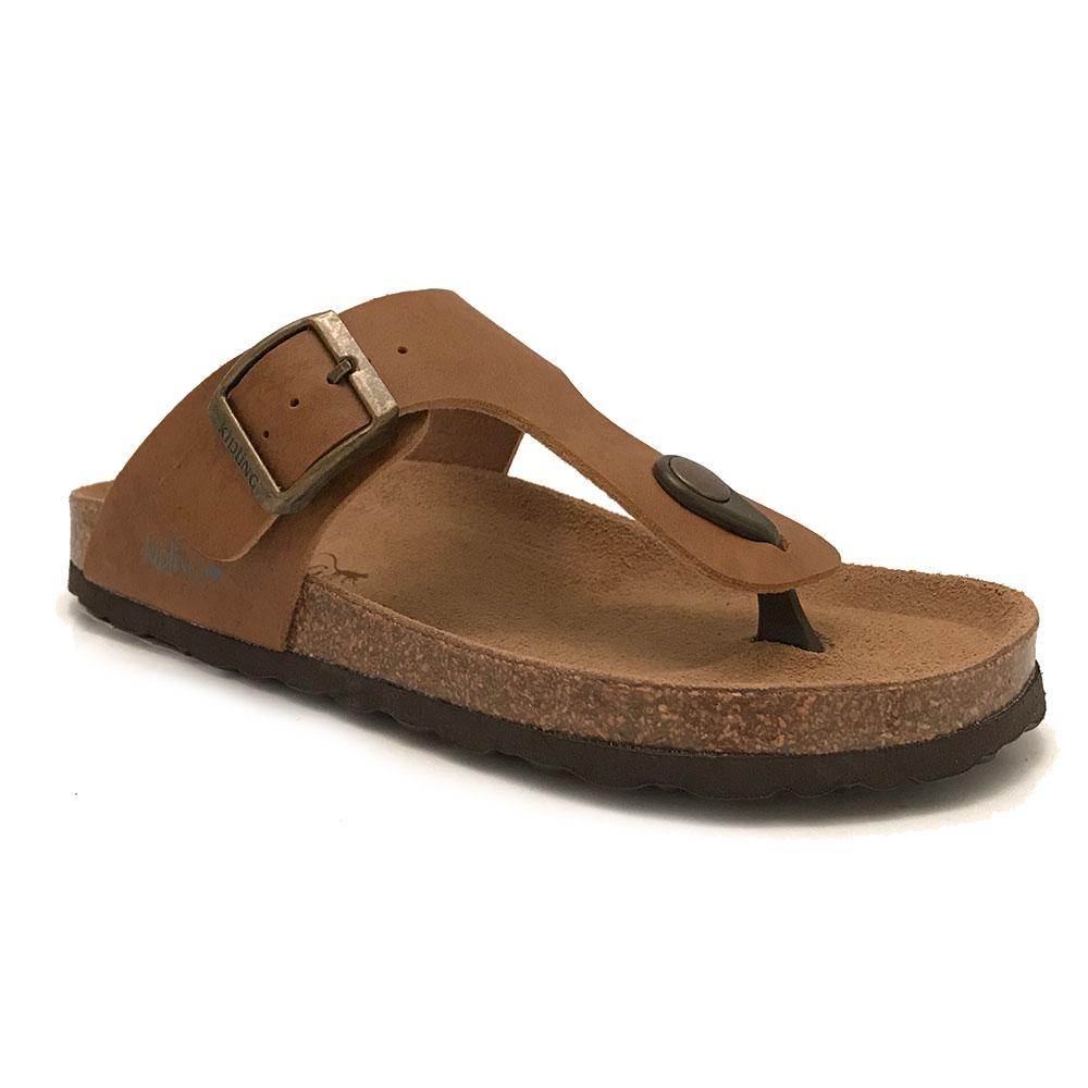Bruine Kipling Slippers Juan 4A