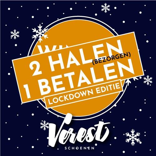 2 HALEN = 1 BETALEN: Lockdown Editie