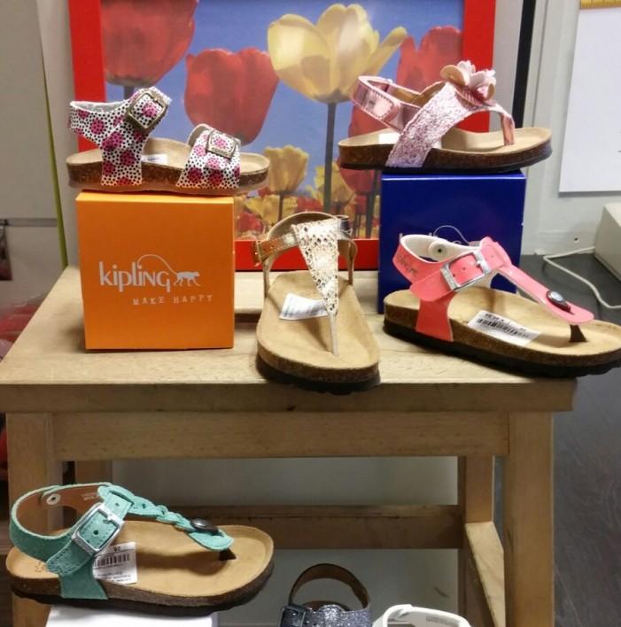 De leukste zomer sandalen en slippers van Kipling