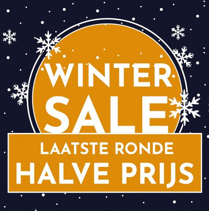 Nu heel veel Winter Sale: HALVE PRIJS