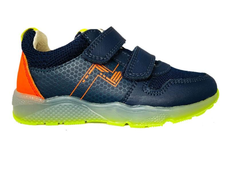320332-520 Track Style Blauwe Trackstyle Klittenbandschoenen Wijdte 5