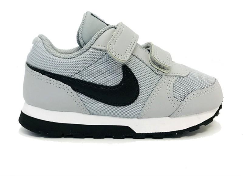 4bb2f15e6de 806255-003 Nike Grijze Nike Sneakers MD Runner Kids Klittenband