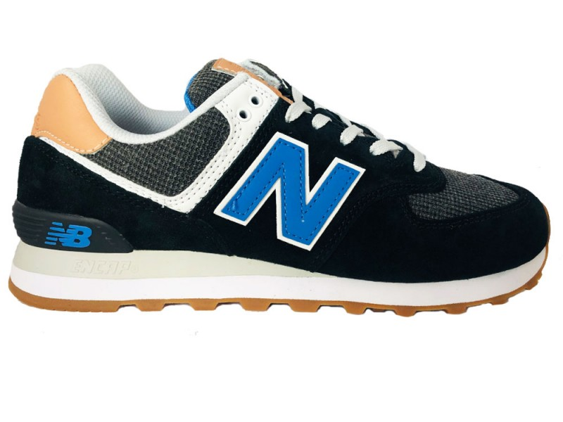 ML574-TYE New Balance Zwarte NEw Balance Sneakers 574