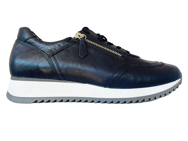 46.335-16 Gabor Blauwe Gabor Sneakers Wijdte H