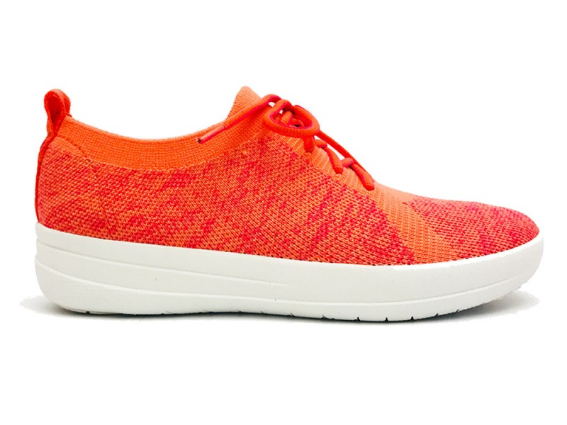L39-543 FitFlop™ Fitflop™ F-Sporty™ Uberknit™ Sneakers Coral