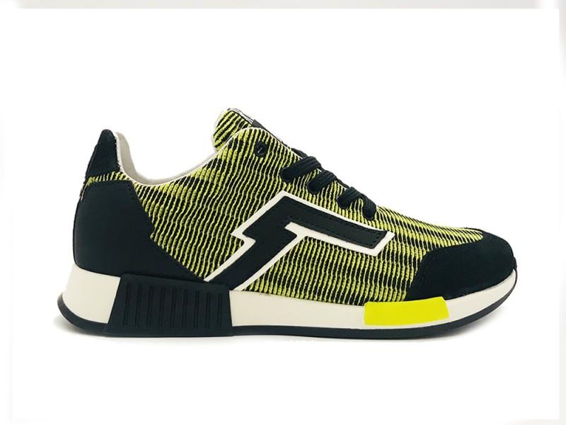 13175-320 Red Rag Gele Red Rag Sneakers Yellow Fabrics