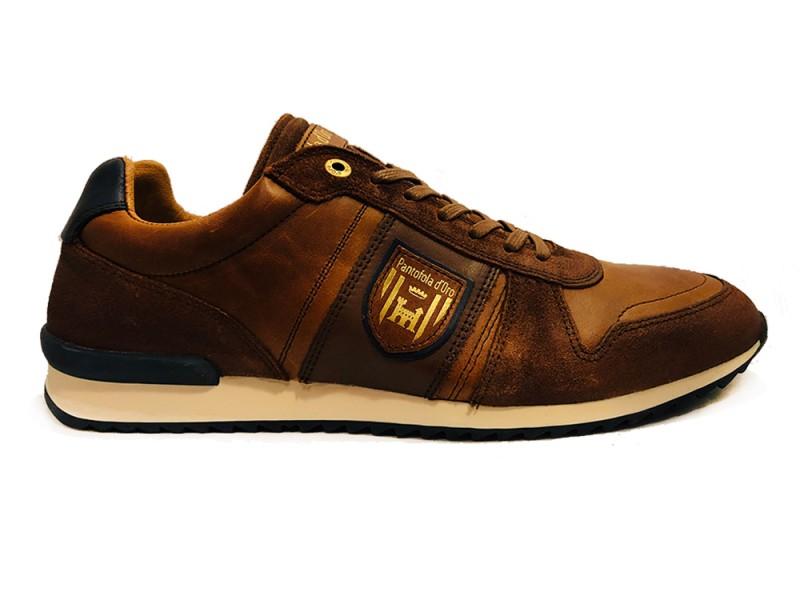 10193028-JCU Pantofola d Oro Bruine Pantofola d'Oro Veterschoenen Umito Low