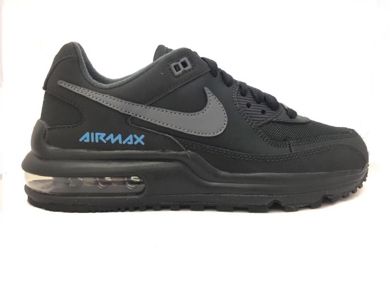 CT6021-001 Nike Grijze Nike Sneakers Air Max Wright Kids