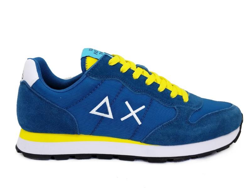 Z31101-Ottanio SUN68 Blauwe SUN68 Sneakers Tom Solid Nylon Ottanio