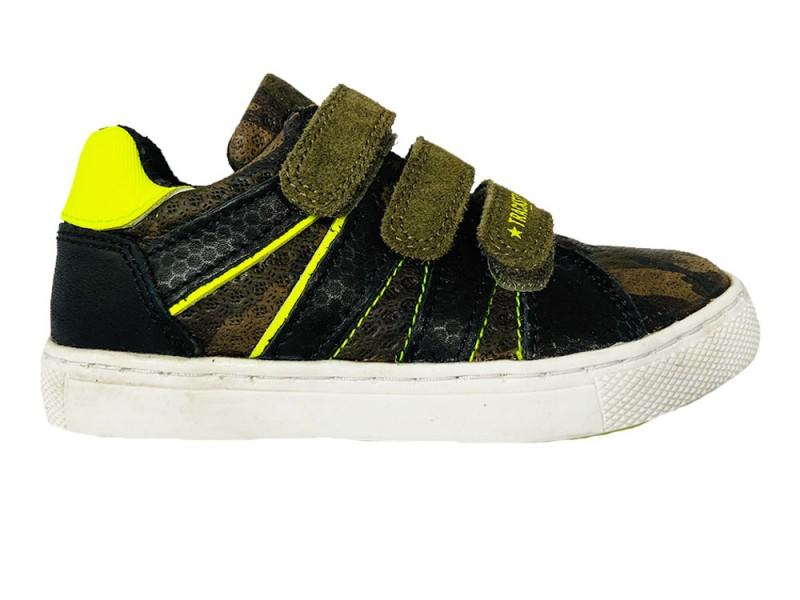320336-469 Track Style Groene Trackstyle Klittenbandschoenen Wijdte 3,5