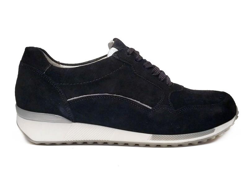 776002-205-361 Waldlaufer Zwarte Waldlaufer Sneakers Jule Wijdte H