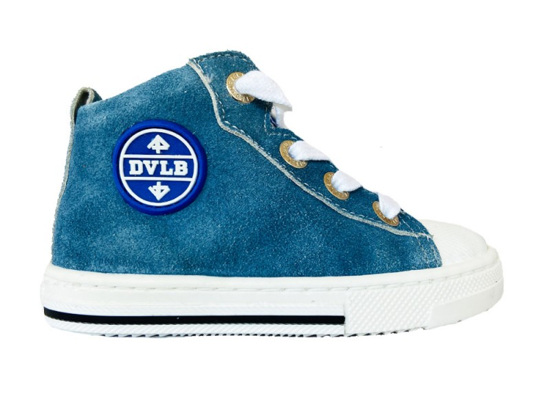 41295-623 Develab Blauwe Develab Veterschoenen Firststep