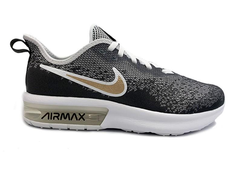 c326624a6da CD8523-100 Nike Grijze Nike Sneakers Air Max Sequent 4 Kids