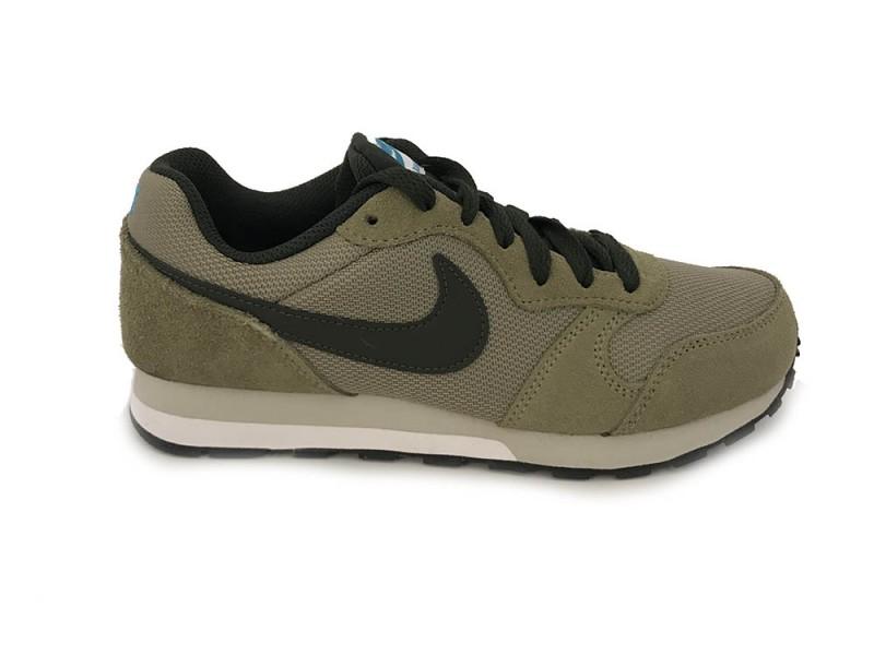 807316-200 Nike Groene Nike Sneakers MD Runner 2 Kids Olive