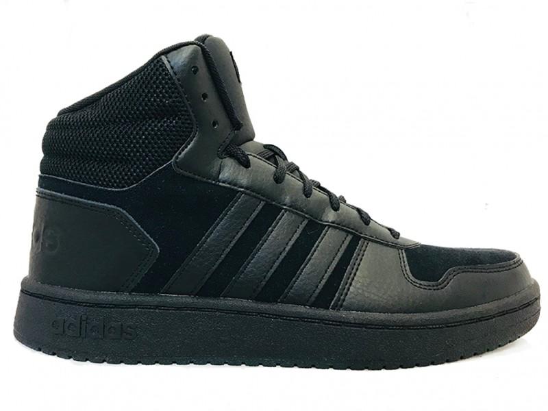 c6e622b84be B44649 Adidas Zwarte adidas Sneakers Hoops 2.0 Mid
