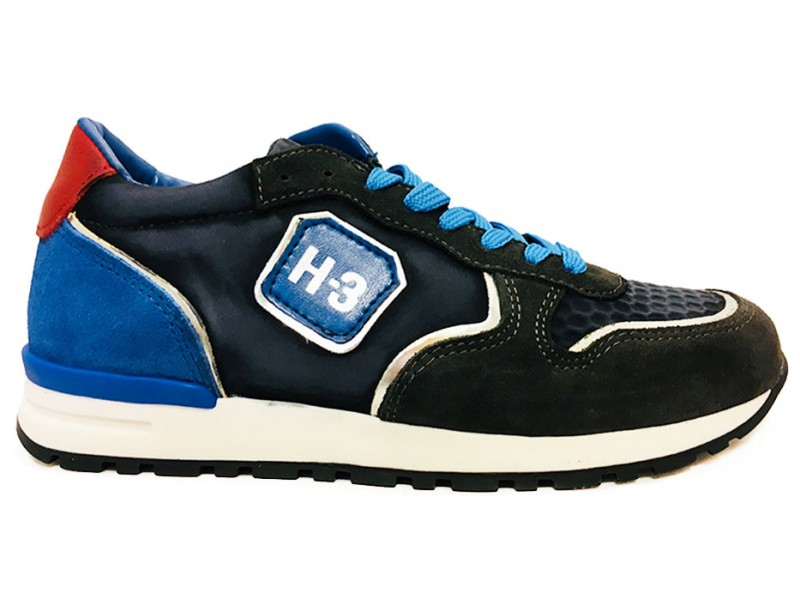 H1621-18CO-CC Hip Grijze Hip Veterschoenen