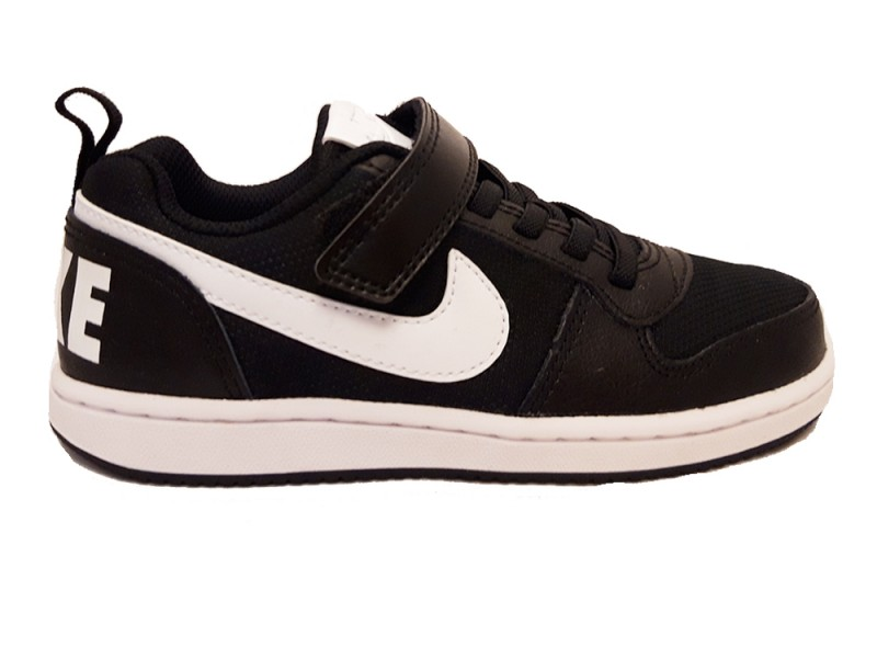 CD8514-002 Nike Zwarte Nike Sneakers Court Borough Low