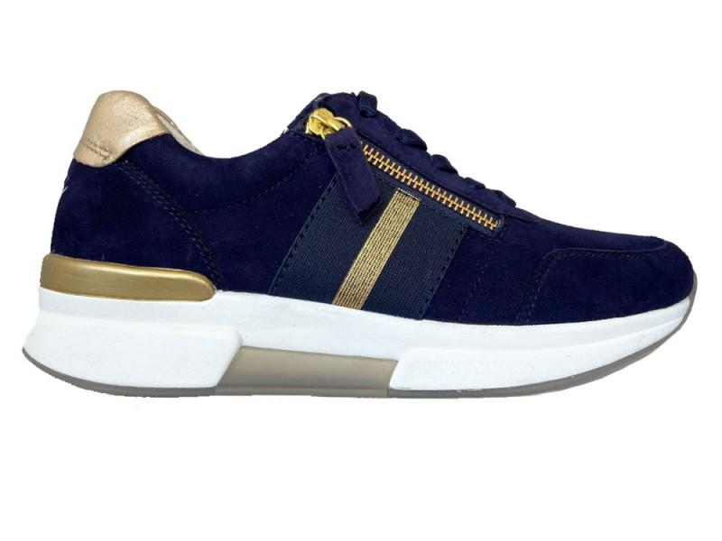 46.928-46 Gabor Blauwe Gabor Sneakers Rollingsoft