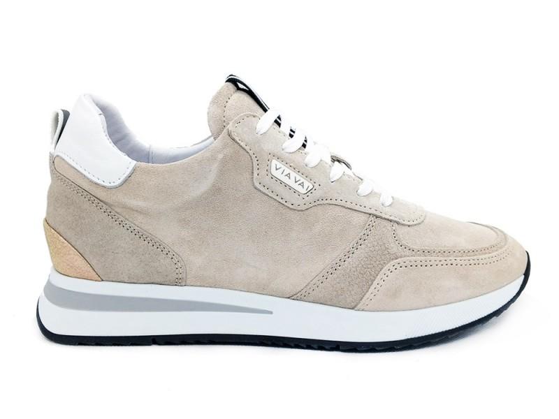 5612021-Calcare Via Vai Beige Via Vai Sneakers Irazu Combi Calcare