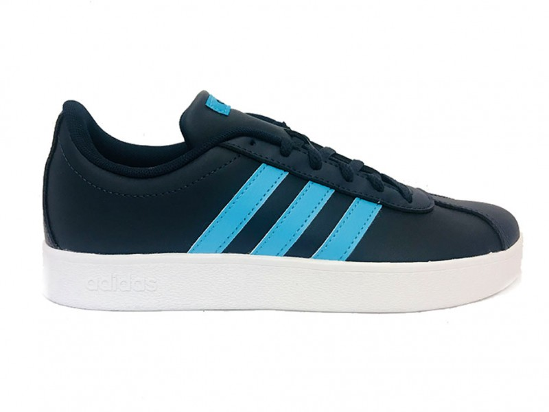 B75695 Adidas Blauwe adidas Sneakers VL Court 2.0 Kids