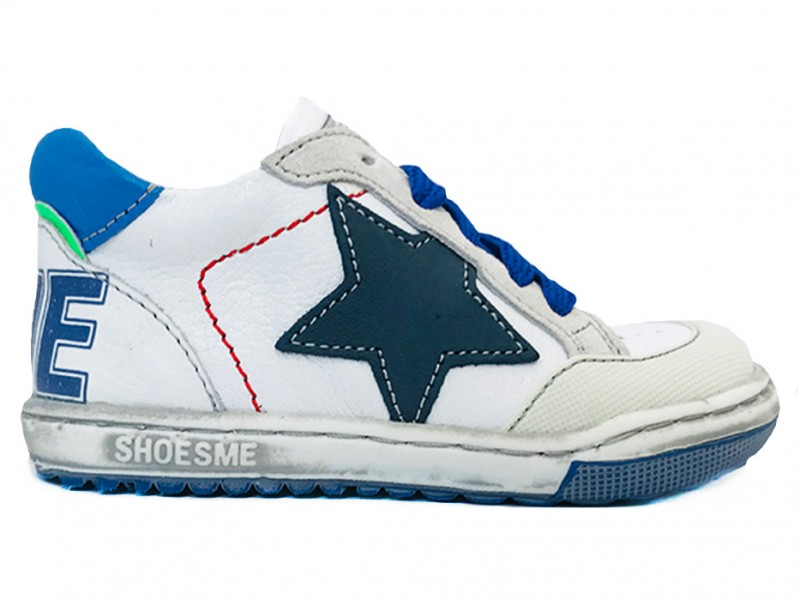 EF9S001-A ShoesMe Witte ShoesMe Veterschoenen Extreme Flex