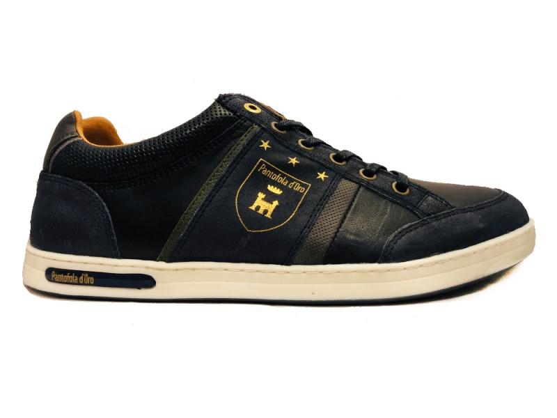10193019-29Y Pantofola d Oro Blauwe Pantofola d'Oro Veterschoenen Mondovi Low