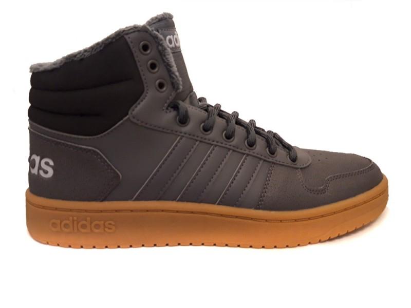 EE7373 Adidas Grijze adidas Sneakers Hoops 2.0 Mid