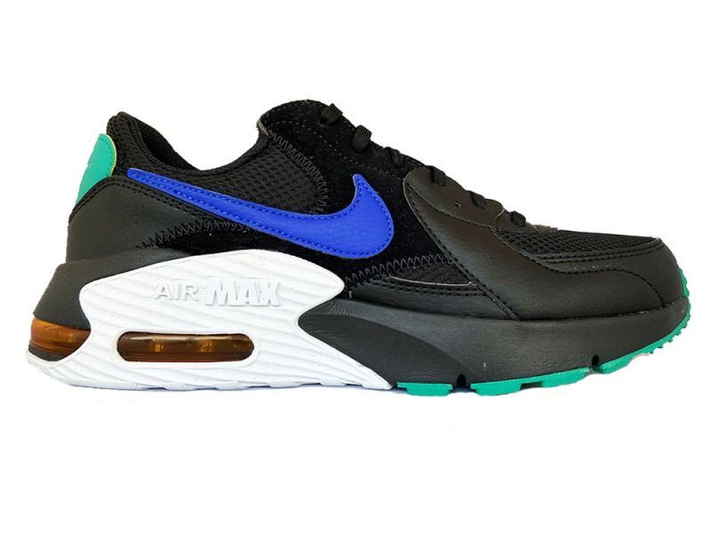 CD4165-002 Nike Zwarte Nike Sneakers Air Max Excee
