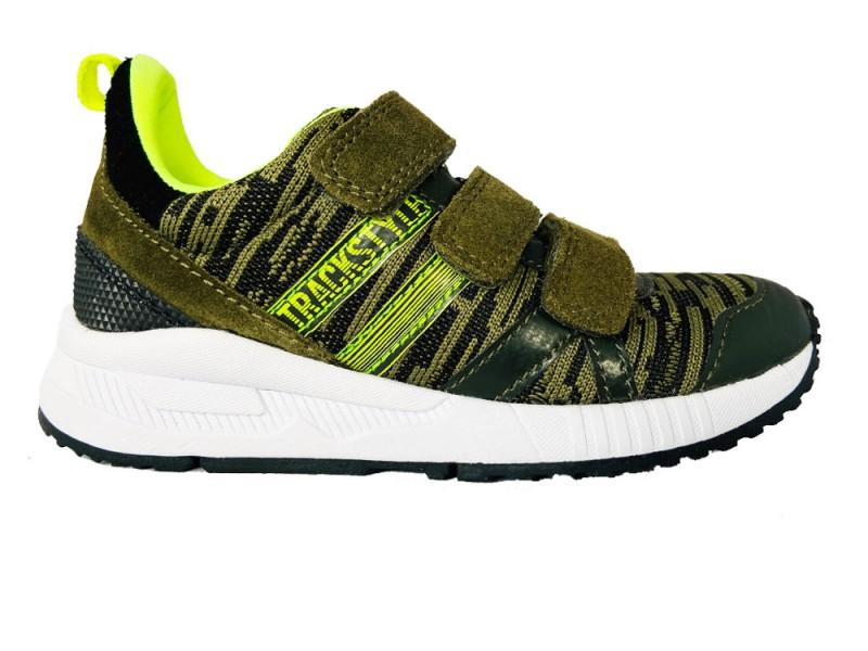 320380-362 Track Style Groene Trackstyle Klittenbandschoenen Wijdte 3,5