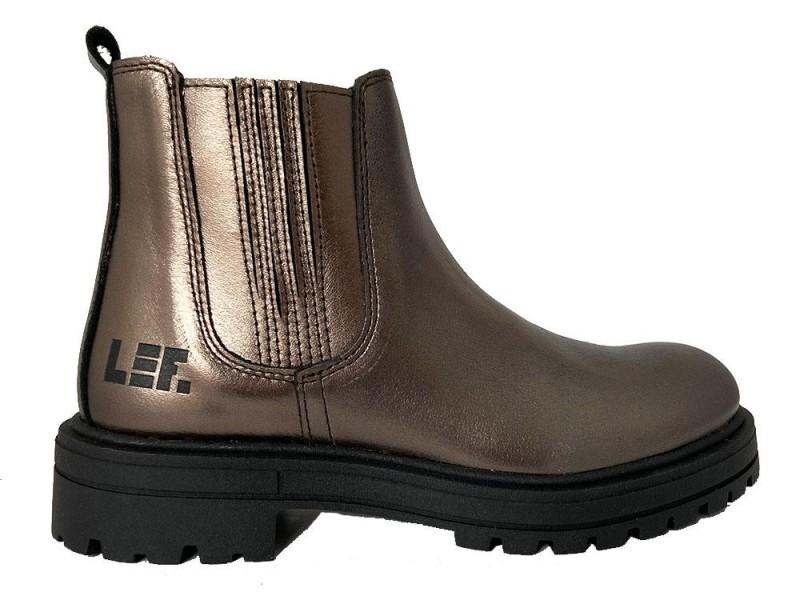 LF2020560-2200 Piedro Bronzen LEF Chelseaboots