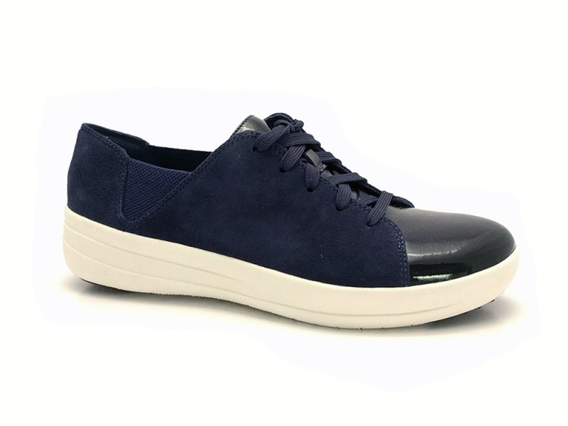 I71-442 FitFlop™ Blauwe Fitflop™ F-Sporty™ Lace-Up Sneakers