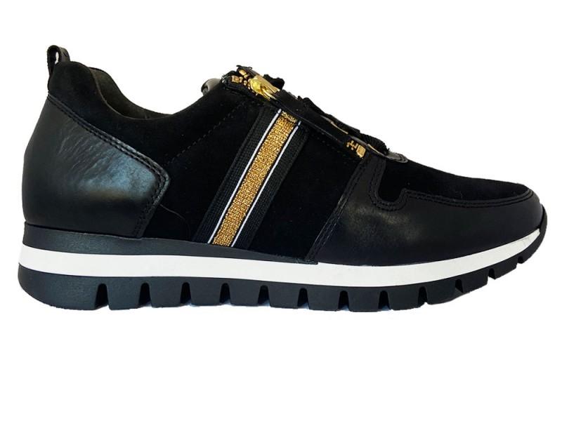 56.435-47 Gabor Zwarte Gabor Sneakers
