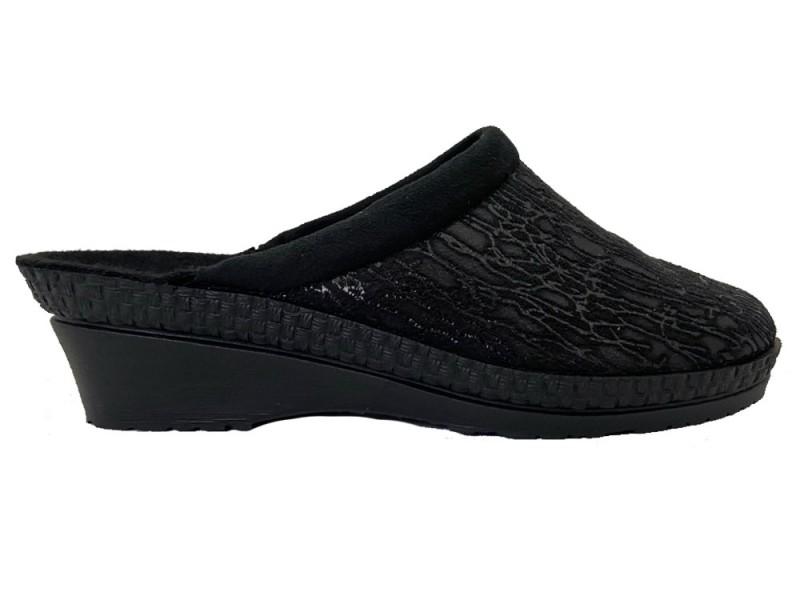 2455-90 Rohde Zwarte Rohde Slippers