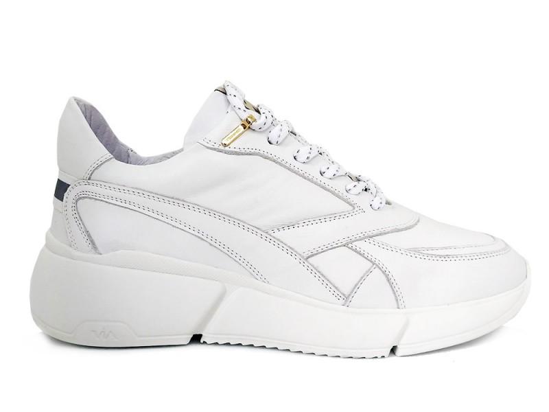 5603029-Bianco Via Vai Witte Via Vai Sneakers Celina Vitello Bianco